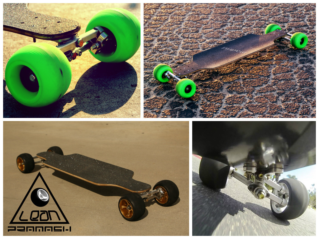 Lean Skateboard / Longboard - Leans Into Turns.'s video poster