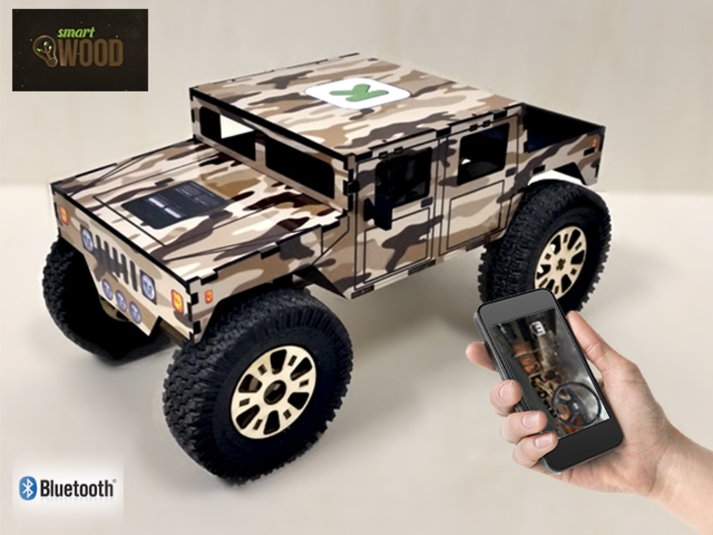 SmartWood - Smartphone Controlled DIY vehicles (Canceled)'s video poster