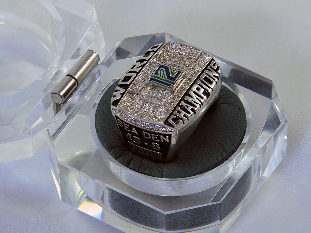 Super Bowl Championship Ring for the 12s's video poster
