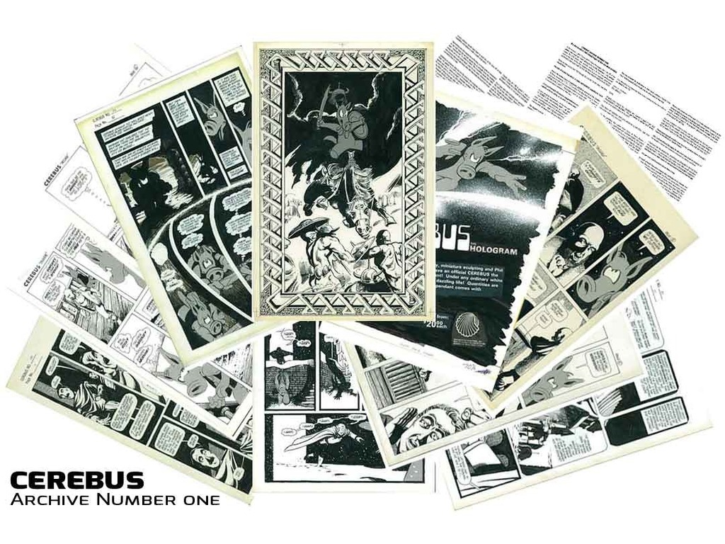 CEREBUS ARCHIVE NUMBER ONE's video poster