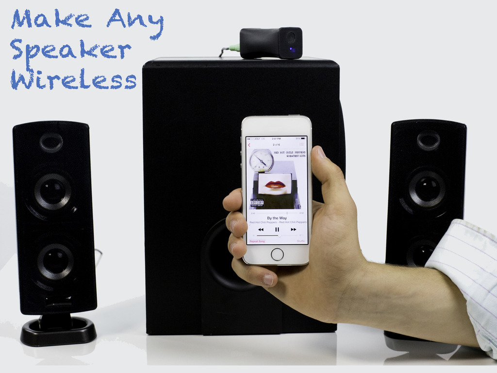 The Link - a device that makes any speaker wireless's video poster