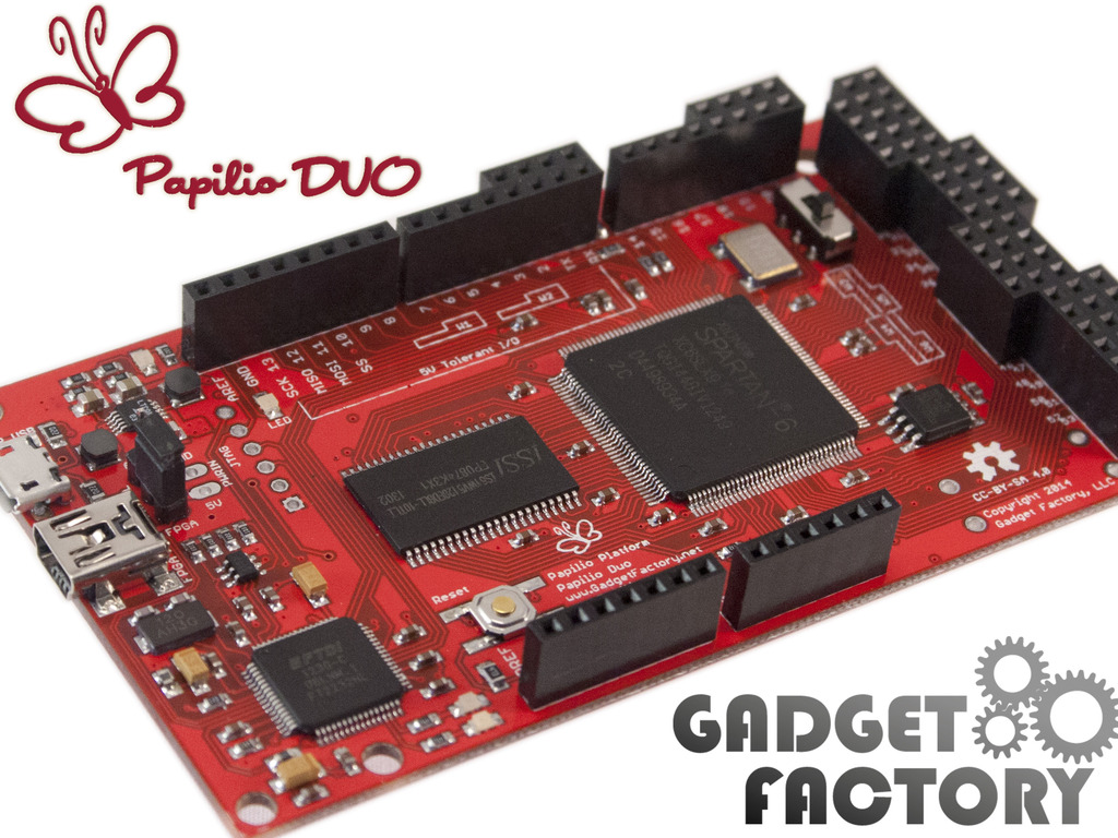 Papilio DUO - Drag and Drop FPGA Circuit Lab for Makers's video poster