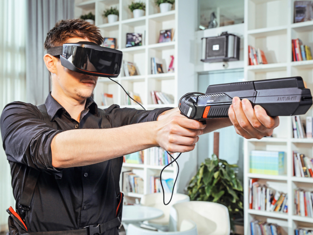 ANTVR KIT: All-IN-ONE Universal Virtual Reality Kit's video poster