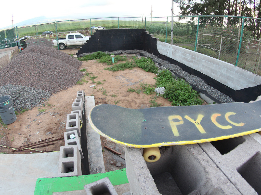 Help complete the Stonewave Skatepark at the PYCC's video poster