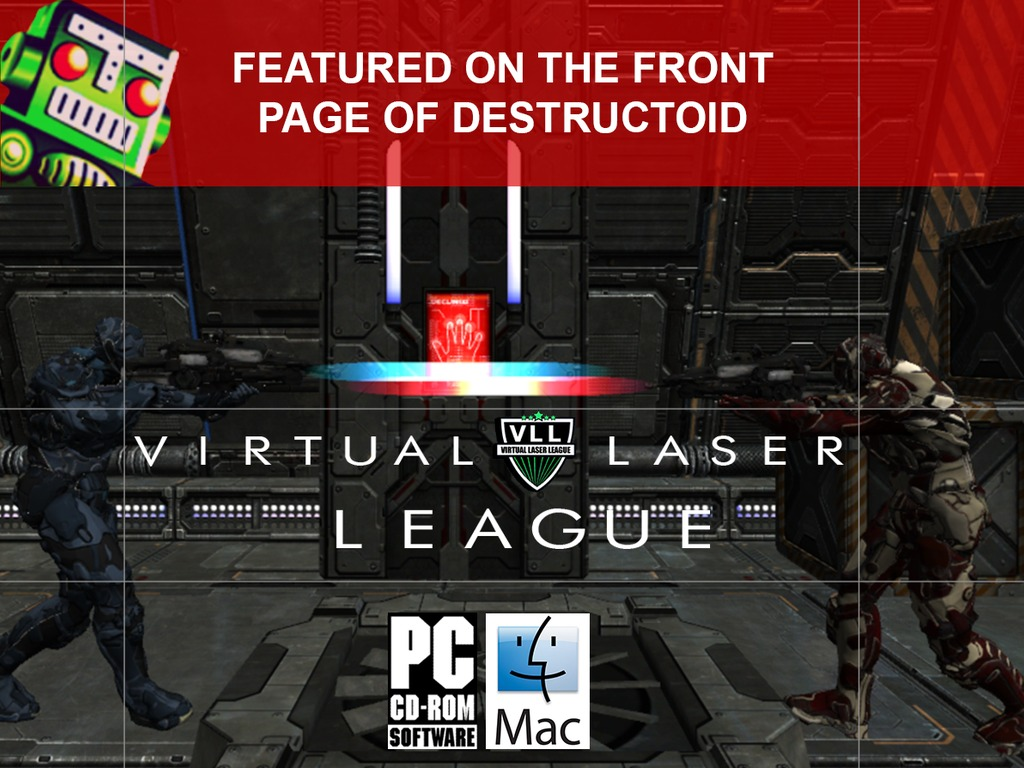 The Virtual Laser League - eSport Arena Gaming's video poster
