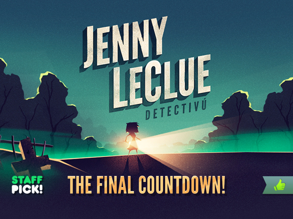 Jenny LeClue - A Handmade Adventure Game's video poster