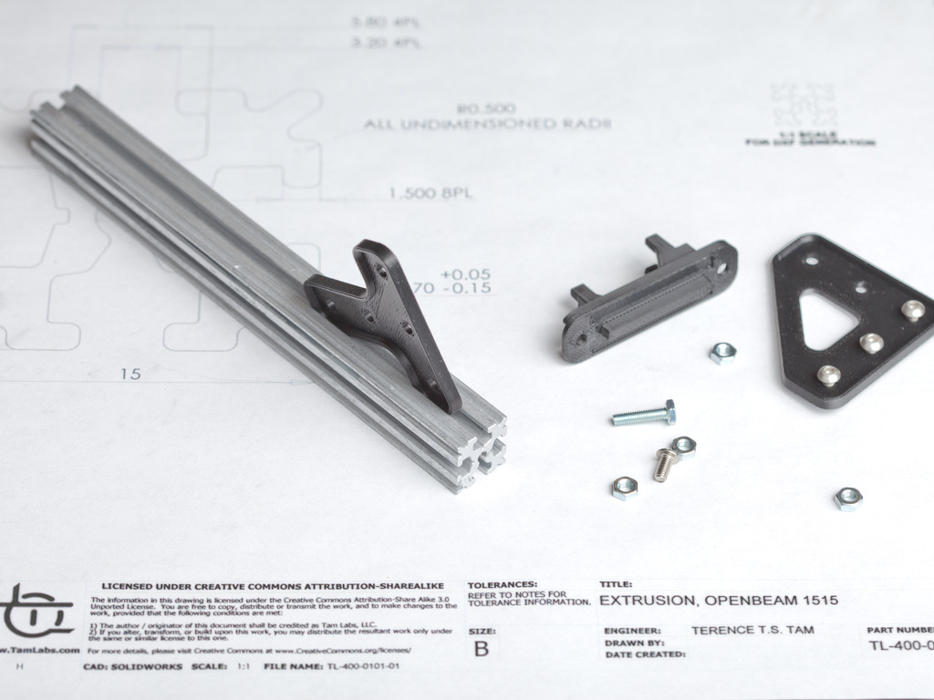 OpenBeam - An open source miniature construction system's video poster