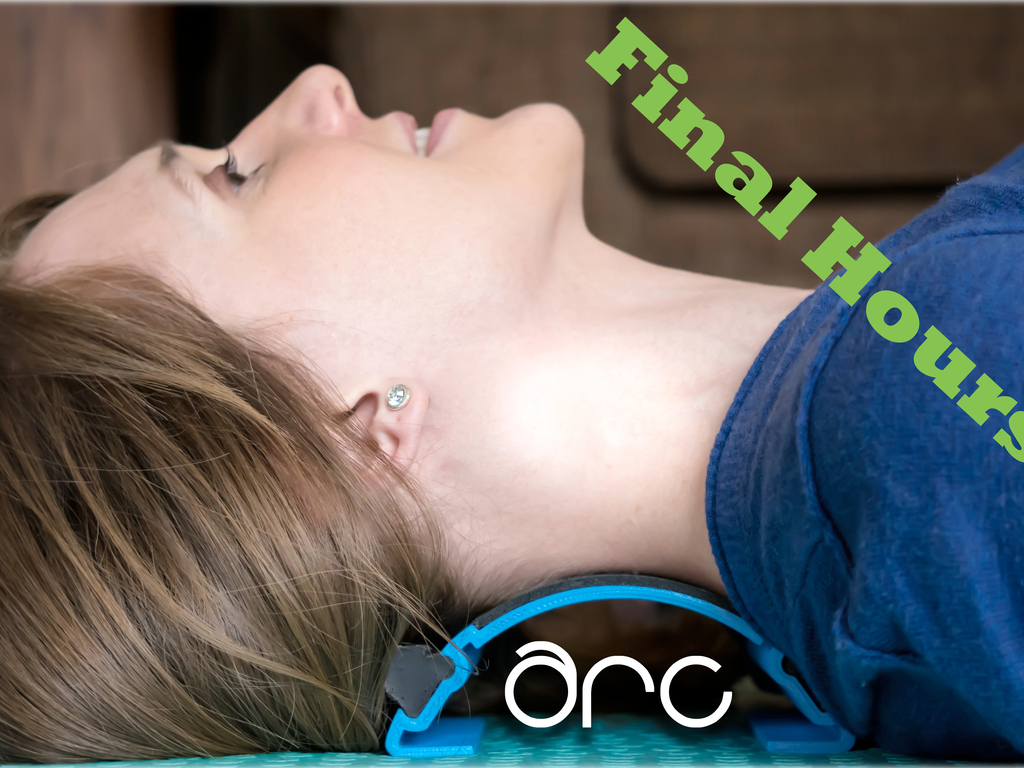 The ARC: Neck & Back Tension Relief Creates Perfect Posture's video poster