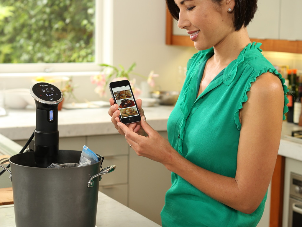 Anova Precision Cooker - Cook sous vide with your phone's video poster