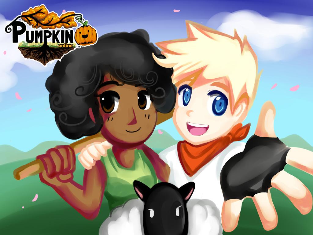 Pumpkin Online - A Farming/Dating Sim MMORPG's video poster