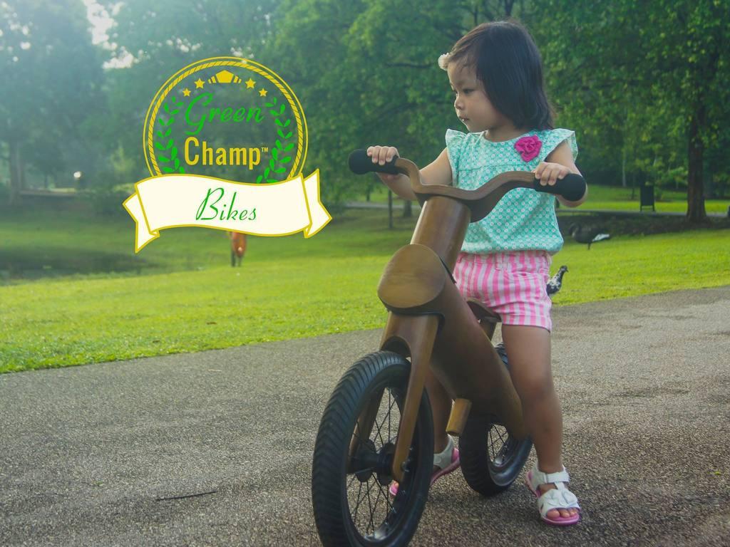 GreenChamp Bikes - Sustainable Bamboo Balance Bikes for Kids's video poster