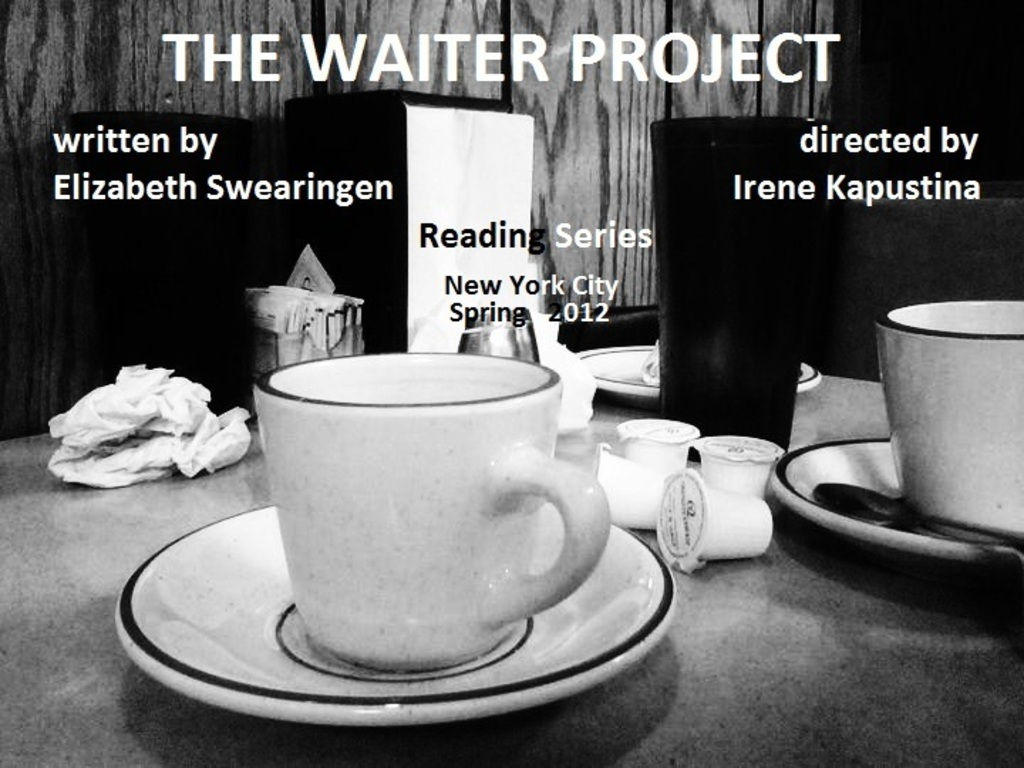 """The Waiter Project"" Public Reading Series's video poster"
