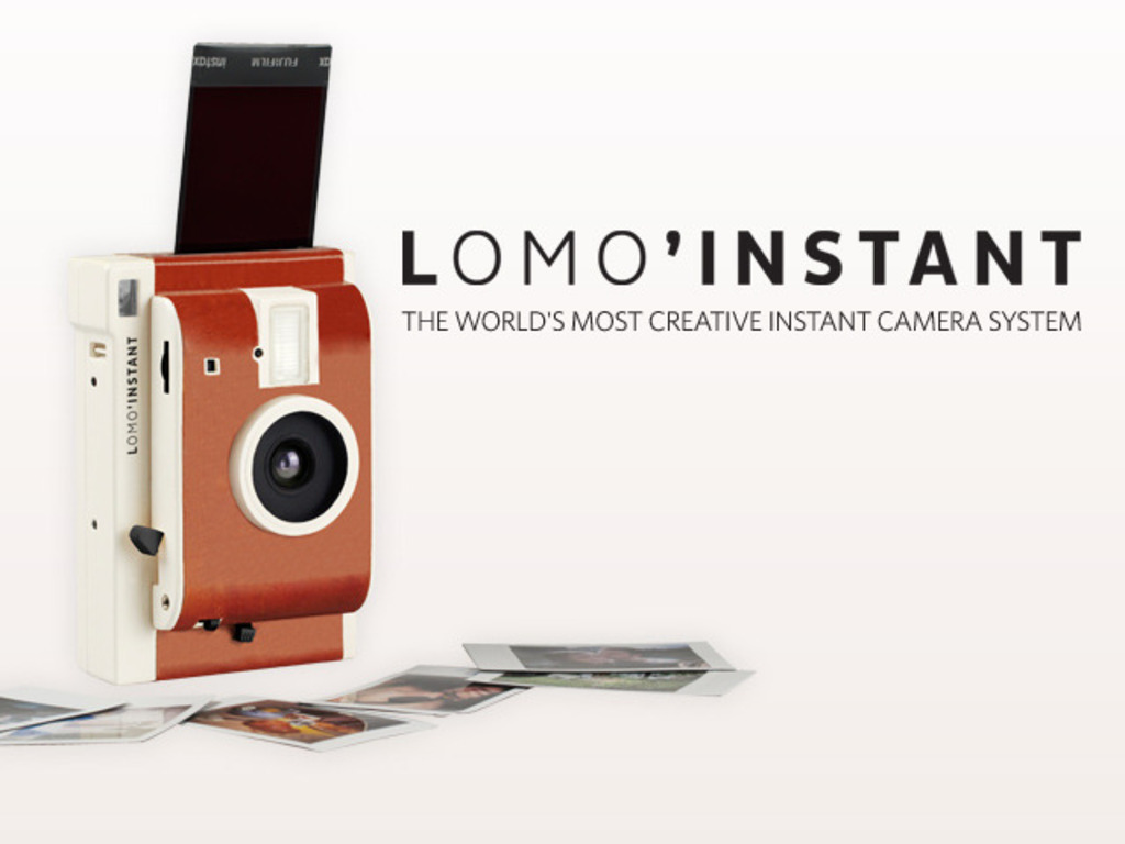 The Lomo'Instant Camera's video poster