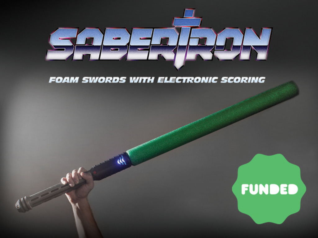 Sabertron: Foam Swords with Electronic Scoring's video poster