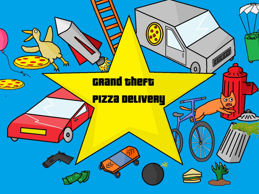 Grand Theft Pizza Delivery's video poster