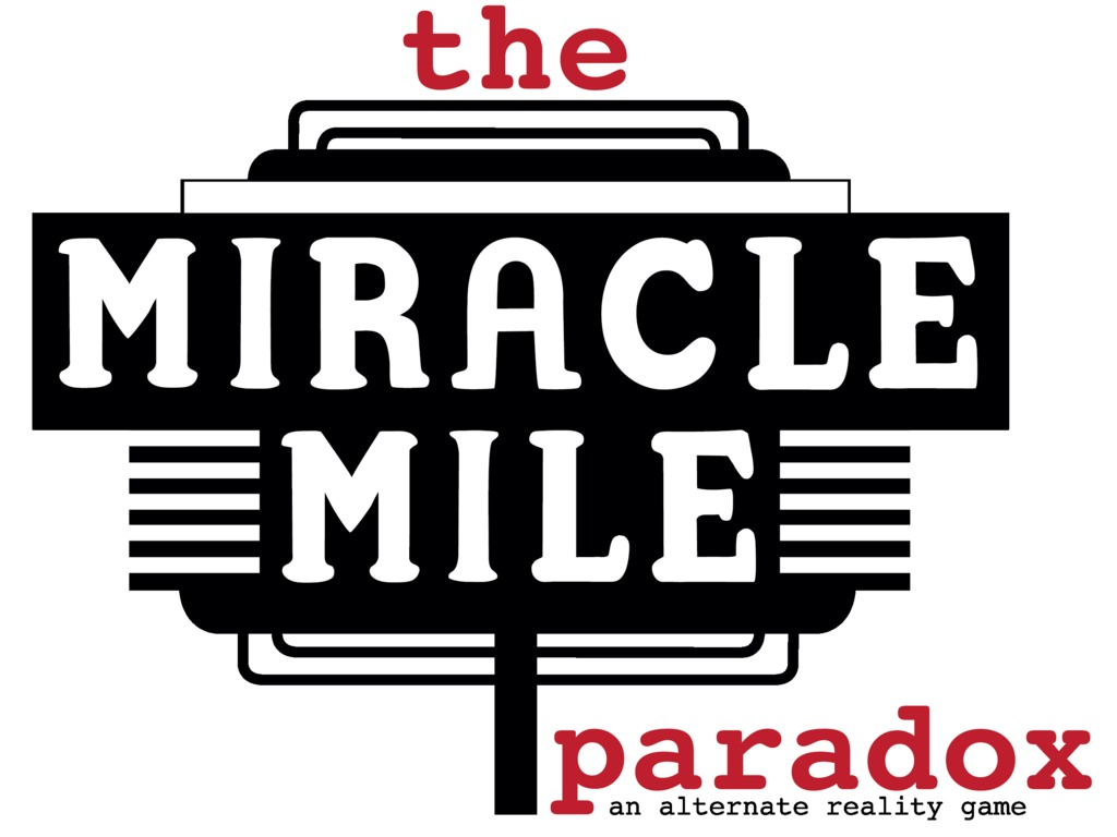The Miracle Mile Paradox ARG's video poster